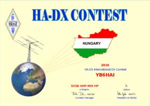 ha dx contest 2016
