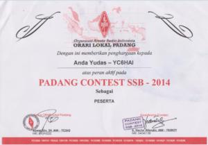 padang contest ssb 2014